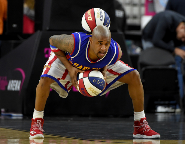 Harlem Globetrotters At T-Mobile Arena