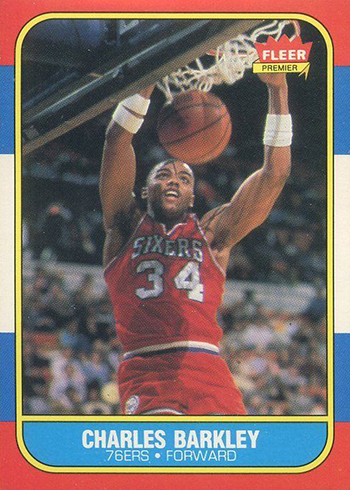 1986-87-Fleer-Charles-Barkley-RC